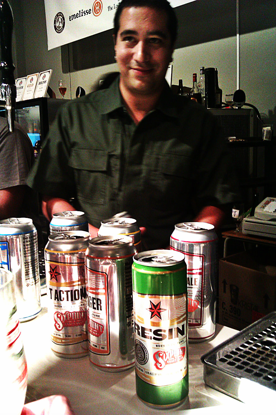 Adrian Marquez, Sixpoint brewery.