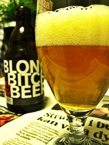 Blond bitch beer