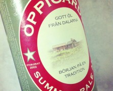 Summer pale ale – Oppigårds