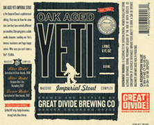 Oak Aged Yeti Imperial Stout – Great Divide